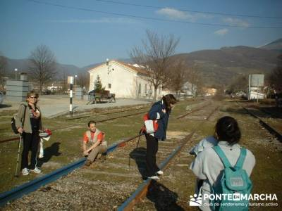 Vias ferreas abandonadas en Hervás; excursiones organizadas desde madrid